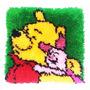Tapete Winnie The Pooh Navidad Regalo Amor Hogar Decoracion