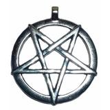 Amuleto Pentagrama Invertido 2,7 Cm