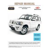 Manual Taller Mahindra Scorpio 2.2 L M-hawk Diesel Gasolina