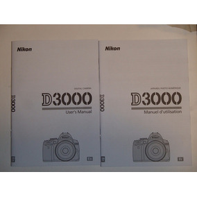 Manual De Camara Nikon D 300 (eng/fra)