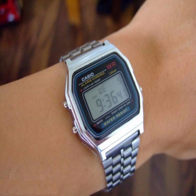 6ea856e6a8c Relogio Casio Vintage Prata Barato - Relógio Casio no Mercado Livre ...