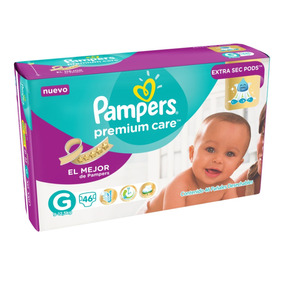 Pañales Pampers Premium Care - Talle Grande