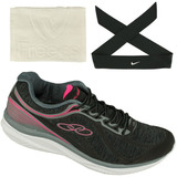 Tênis Olympikus Actual Feminino+ Faixa Cabelo Nike + Toalha!