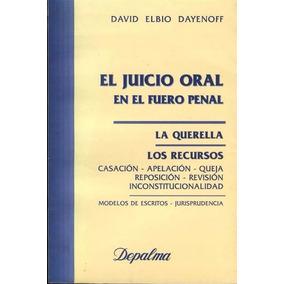 Libro: El Juicio Oral En El Proceso Penal - Pdf