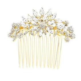 Sepbrdials Rhinestone Crystal Wedding Nupcial Pelo Peine Lat