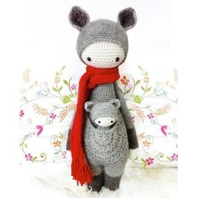 Patrón Lalylala Canguro - Amigurumi - Crochet - En Español