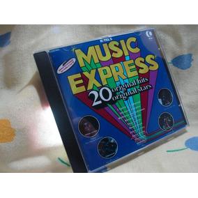 K-tel Music Express Cd Remaster Michael Jackson Stylistics