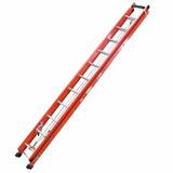 Escada Extensiva Com Degraus Tipo D E Fibra 4,36m X 7,72m