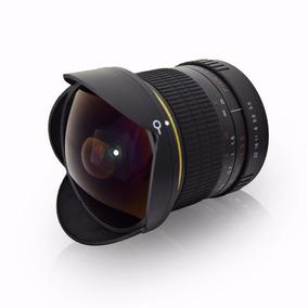 Lente Fisheye Ojo De Pescado 8mm F/3.5-22 Para Reflex Canon