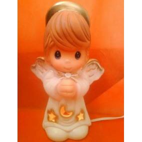 Paquete 20 Lámparas Angel Hechas Cerámica Recuerdos Bautizo