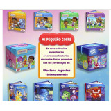 Libros Infantiles Mi Pequeño Cofre 4 Mini Libros Disney Niño