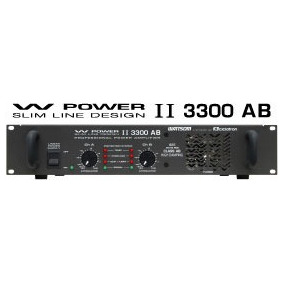 Ciclotron W Power Ii 3300 Amplificador Potencia Profis. 825w