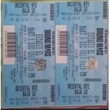 Boletas Bruno Mars Oriental 24k Magic World Tour