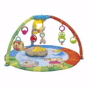 Gimnasio Manta Bebe Chicco Bubble Gym 3 En 1 Luz Y Música