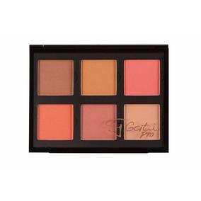 Paleta De Blush 6 Cores Pro Kit Rihanna Gati Paris