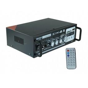 Amplificador Ambiente Automotivo Wg-806bt Som Música Rádio