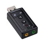 Tarjeta De Sonido Usb 7.1 Canal3d Audio Adaptador