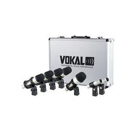 Kit Microfone Vokal Vdm7 Para Bateria C/7 Peças