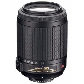 Lente Nikon Af-s Dx Vr Zoom-nikkor 55-200mm F/4-5.6g If-ed