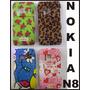 Funda Nokia N8 Diseños Colores Dibujos Protector