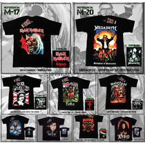 Franelas Rock Metal Punk Hard Death Thrash Clasico Mundanos
