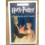 Pasta Blanda Libro Harry Potter Y Las Reliquias De La Muerte