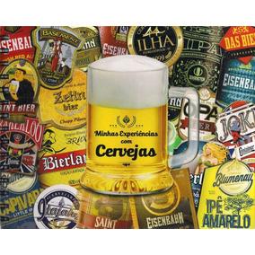 Álbum Para Colecionar Rótulos De Cerveja