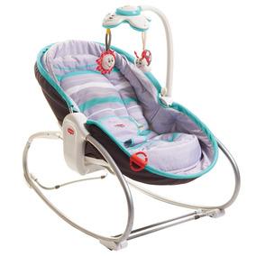 Cadeira De Descanso 3 Em 1 - Cinza/turquesa - Tiny Love