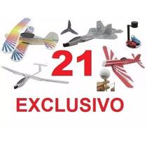 Planos 21 Juguetes Artesanal Aviones Batimovil Nave Espacial