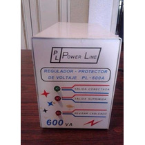 Power Line Protector De Voltaje De 600 Va Maximo