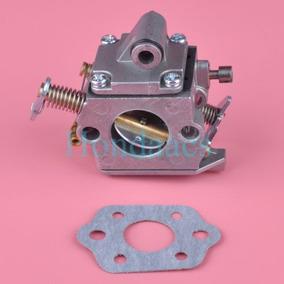 Carburador Y Junta Para Stihl Motosierra Ms 170 Ms 180...