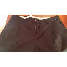 Pantalón Negro De Vestir Para Hombre Tallas 32