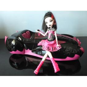 Carro Da Draculaura Monster High Mattel (27mhz)