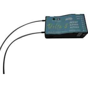 Receptor Delta 8 Para Rádios Futaba T6j/t8j/14sh- S-fhss