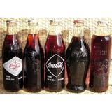 Colección De 5 Botellas Conmemorativas Coca-cola 80 Años