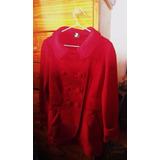 Abrigo Polar Militar Rojo