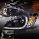 Honda Civic 2004 - 2005 Juego De Faros Con Proyector Y Leds