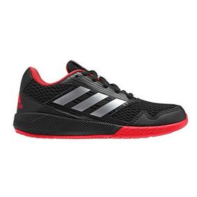 Tenis Hombre adidas Alta Run K Color Negro Niños Original