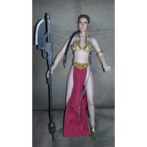 Princesa Leia Star Wars Mr Toys Esclava Figura Muñeca Flexib