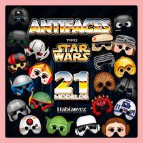 Antifaces De Star Wars Para Fiesta De Cumpleaños Temática