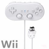 Control Clasico Nintendo Wii Y Wii U Alambrico Classic