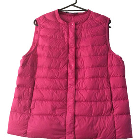 Chaleco Dama Chalecos Mujer Rosa Ropa Casual Julio