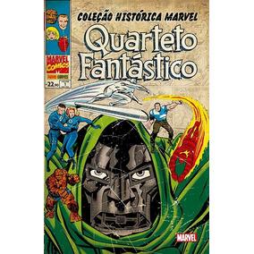Coleção Histórica Marvel - Quarteto Fantástico 1ao4 Lacrado