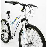 Bicicleta 26 Soul Flora 21v Alumínio Branca (quadro 17)