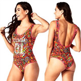 Zumba Beach Baller Bodysuit
