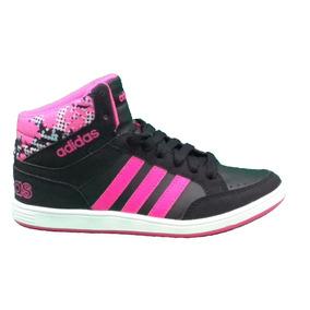 Zapatillas Botitas adidas Hoops Mid Kids