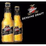Cerveza Miller Porron 24 X 330ml . Envios. Desc-ft Caba Gba.