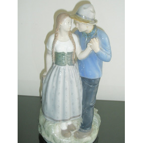 Imperdible Figura De Porcelana Royal Copenhagen Dinamarquesa