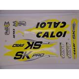 Adesivos Caloi Sk Full Suspension Amarelo Com Frete Grátis