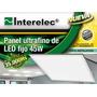 Luminaria Embutir 45w Led Interelec Cuadrado Luz Dia 59x59cm